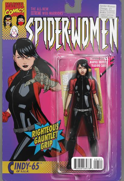 Spider woman variant cover have
