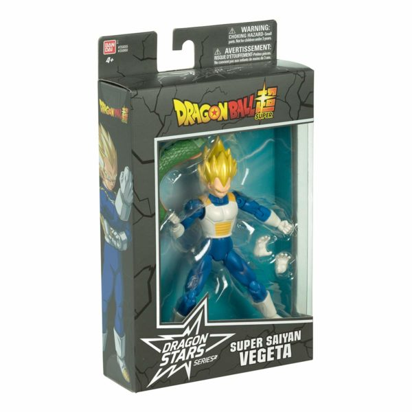 Dragon Ball Super Dragon Stars Super Saiyan Vegeta Figure Series 1
